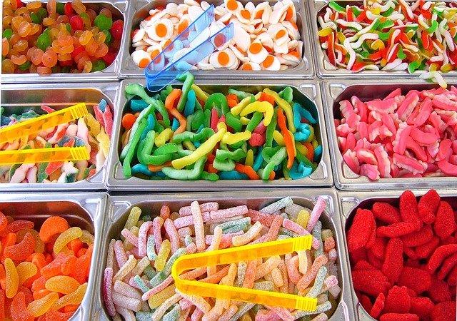 słodycze z ameryki